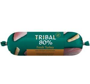 tribal kalkoen graanvrije worst