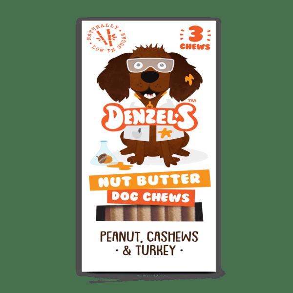 Denzel's chew nut butter